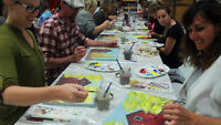 Holiday Work Paint Party