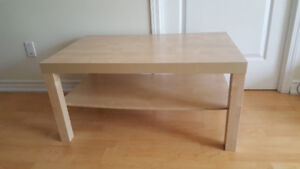 **MOVING SELL**  Coffee table from Ikea (LACK)