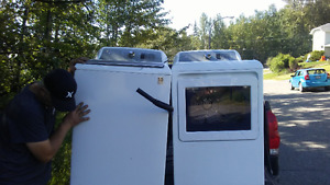 Washer and Dryer 2017 beautiful quick sell GE