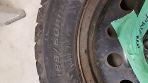 Winter tires on rims 2008 ford focus 4x108