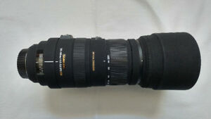 Sigma 120-400 F4.5-5.6 Zoom Lens for Canon