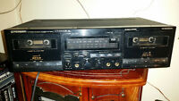 pioneer ct-w630r double auto reverse tape player