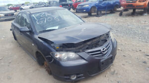 2007 MAZDA 3. JUST IN FOR PARTS AT PIC N SAVE! WELLAND