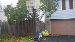 Basketball stand/net system