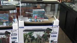 "FLUVAL ACRYLIC VISTA"" PANORAMIC""  LED AQUARIUM STARTER KITS Windsor Region Ontario image 3"