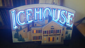 Neon Icehouse  Beer / Brewery Sign