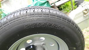 Trailer Spare Tire ST145R12 NEW