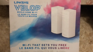 LINKSYS VELOP WI-FI FREEDOM FOR THE ENTIRE FAMILY!