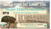 WORLD PEACE DAY SUMMIT 2015 (Exhibitor Space Still Available)
