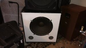 jbl and yamaha bins 10 s and 15 s