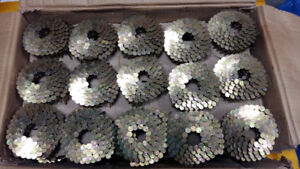 """Dependable 1  1/4 """" Galvanized Roofing Nails, 32.2 pound box"""
