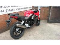 2016(66 )Hyosung GT125R - DELIVERY MILEAGE ONLY