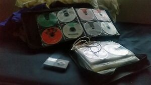 iPOD Classic 160GB and 240 CDs plus Galaxy S5 for a console
