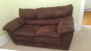Brown Loveseat - Great Condition