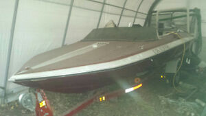 Ski boat 16 ft with Yamaha 115