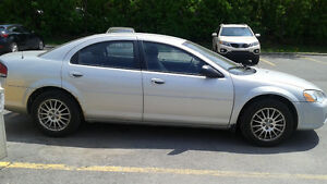 2004 Chrysler Sebring. low mileage. good condition. price nego