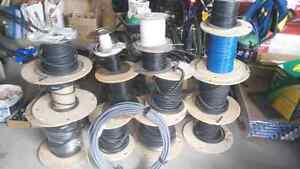 Industrial electrical and electronic cable and components