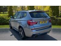 2017 BMW X3 xDrive20d M Sport 5dr Step Auto 4x4 Diesel Automatic