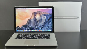 "Apple Macbook Pro 15"" + Wireless Mouse + Leather Carrying Bag"