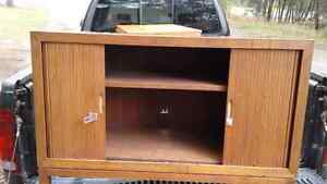 """Hutch with """"Roll"""" Doors and Lock"""