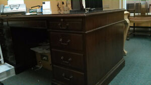 ANTIQUE BARRISTER'S DESK
