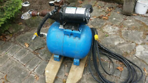 Jet Pump with Ballast Tank Like New  Excellent