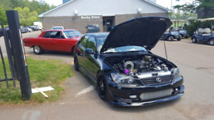 525hp Turbo Lexus IS300