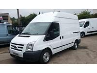 2011/ 11 PLATE Ford TRANSIT 2.4 MWB HIGH ROOF NO VAT NO VAT