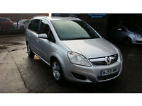2009 59 VAUXHALL ZAFIRA 1.9CDTi ACTIVE 120ps 7 SEATER TURBO DIESEL,ONLY 1 OWNER