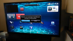 64 inch Smart Samsung tv With WIFI Bluetooth YouTube