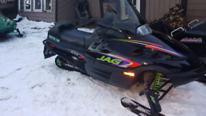 2  SLEDS AND TRAILER..GREAT FUN..