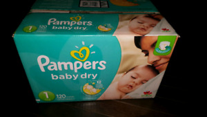 Baby diapers box of 120