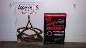 Bd assassin's creed et livre minecraft