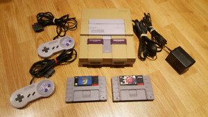 Original Super Nintendo with Games