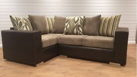New TOP PRICE Corner Sofa ONLY £399