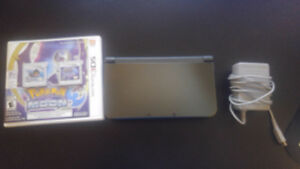 Nintendo New 3DS XL With Charger and Pokemon Moon