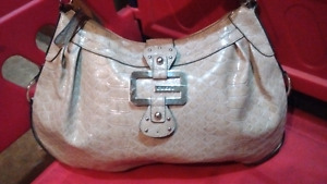 Gentally used Guess bucket bag