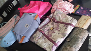 Clothes, accessories and bags