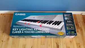 Key Lighting learning piano