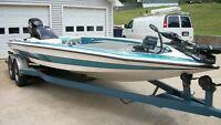 1994 21'10 Bullet XD Bass Boat