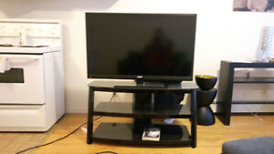 "RCA 40"" Color TV with stand"
