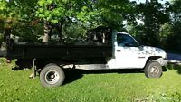 Dodge Power Ram 3500 with Dump Box