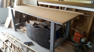Commercial work bench