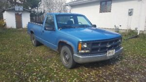 1996 Chev C1500 Truck –  for Repair / Parts - NEED GONE !!!
