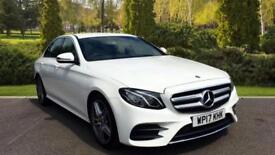 2017 Mercedes-Benz E-Class New Shape E220d AMG Line 9G-Tr Automatic Diesel Saloo