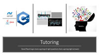 Tutoring in Maths, Physics, Chemistry, Asp.net, Java and C++