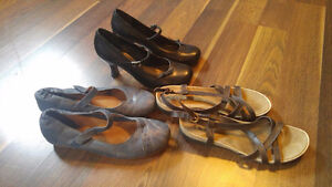 3 (chaussures, sandales, talons) 2X taille9... 1X taille 8