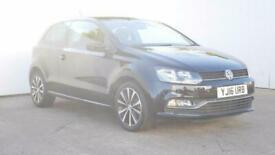 2016 Volkswagen Polo 1.2 TSI Match 3dr Hatchback petrol Manual