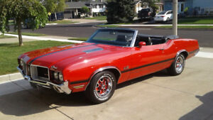 1971 Olds 442 Convertible