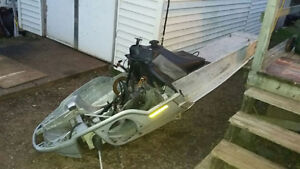 ***TUNNEL & PAPERS FOR 2002 LEGEND SKI-DOO ZX-CHASSIS***